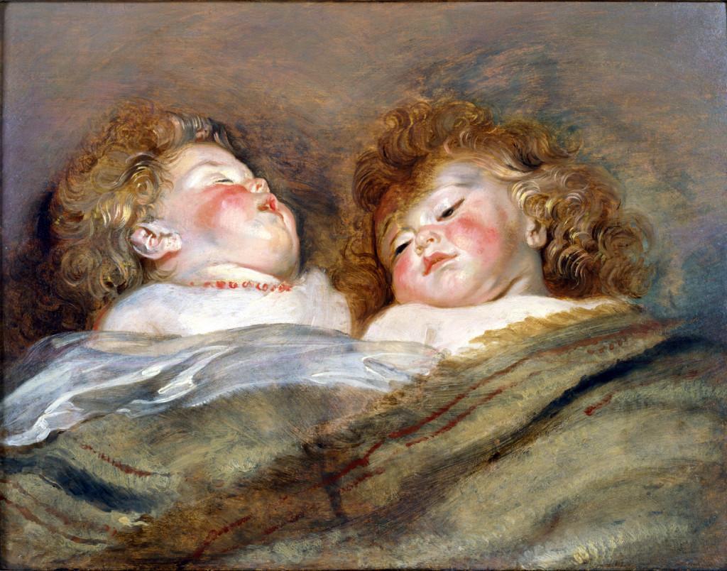 Rubens_Two_Sleeping_Children