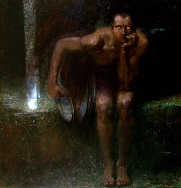 Lucifer - Franz Van Stuck